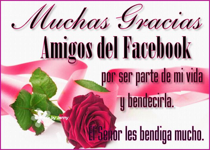 Amigos del Facebook