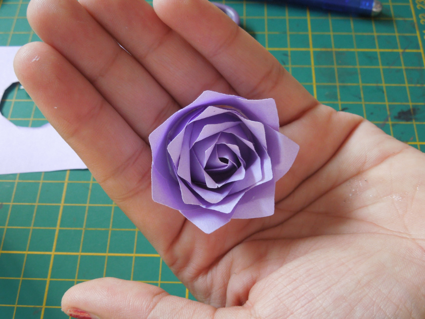 Quilling me softly punch craft rose tutorial mightylinksfo