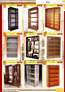 Rak Buku dan Hias Furniture Klender ( Halaman 38 )
