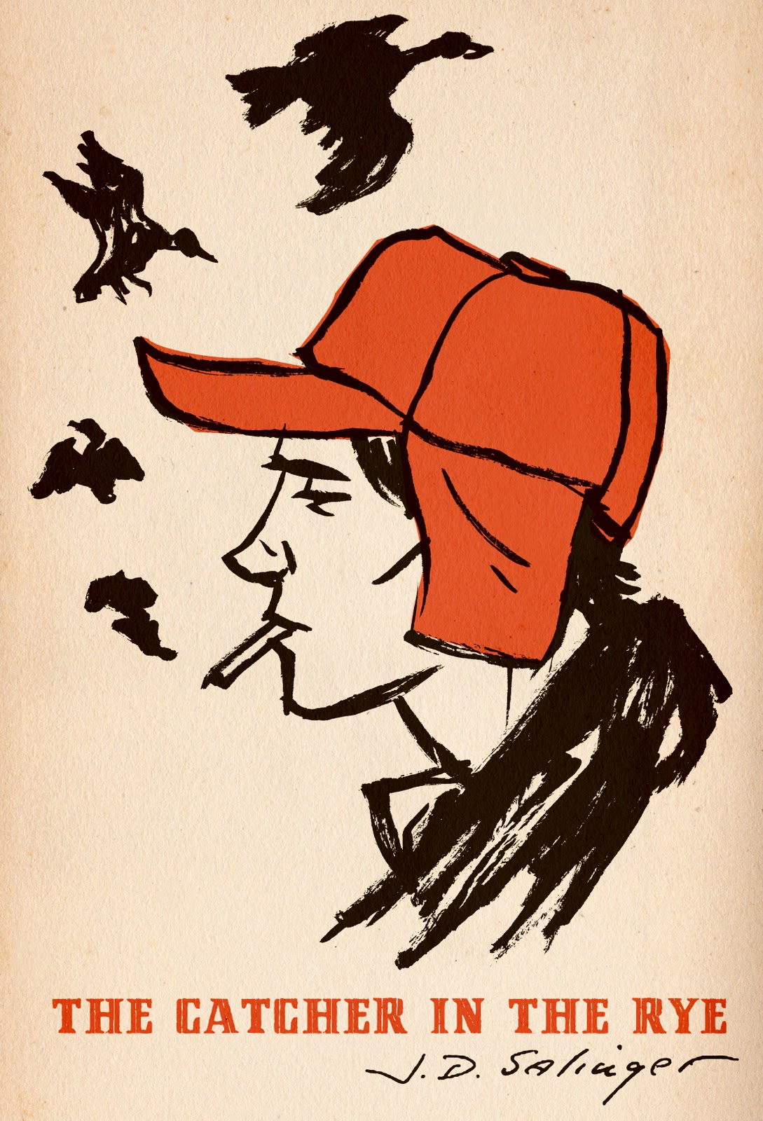 an analysis of the theme of alienation in the catcher in the rye a novel by jd salinger A twenty-one- year- old salinger describes his novel in  margaret salinger likewise traces the alienation in  d salinger, the catcher in the rye.