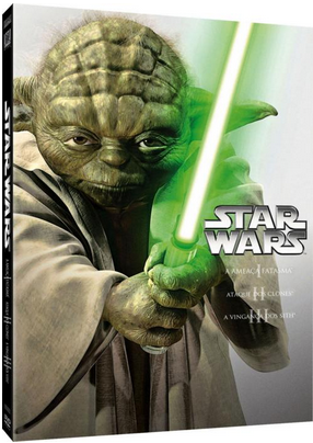 Disney club box star wars a nova trilogia lan ado em dvd for Cabine disney forte deserto