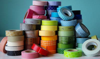Decoración con washi tape