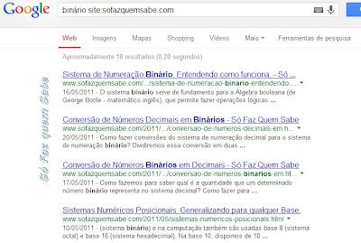 """O operador """"site:"""" pesquisa somente dentro de uma determinada URL."""