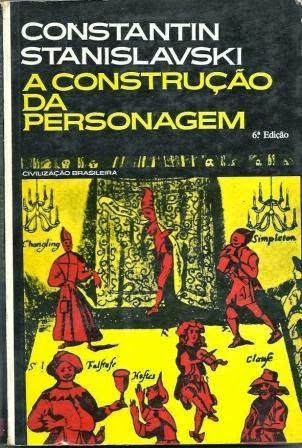 Capa do livro A Construção da Personagem, Constantin Stanislavski