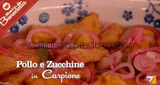 Pollo e Zucchine in Carpione di Benedetta Parodi