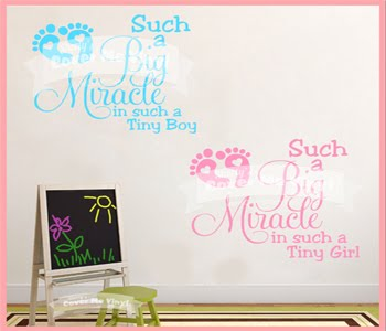 Such a Big Miracle Boy/Girl Wall Decal