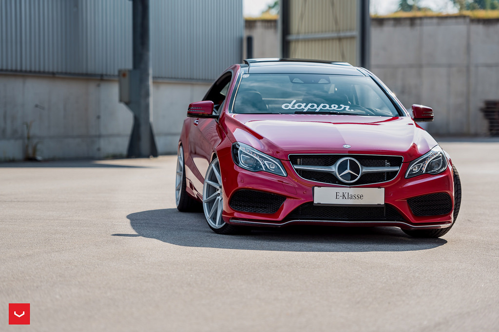 Mercedes Benz E400 C207 Facelift On Vossen Cvt Benztuning
