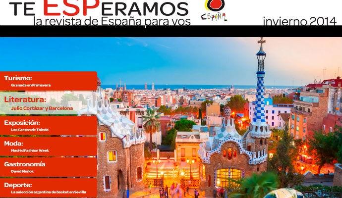 Sali te esperamos una revista digital de la oficina de turismo de espa a viajo por europa - Oficina de turismo de barcelona ...