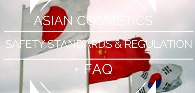 Asian Cosmetics safety standards and regulations and frequently asked questions faq
