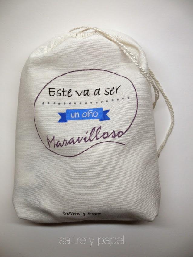 Bolsa personalizada pintada a mano
