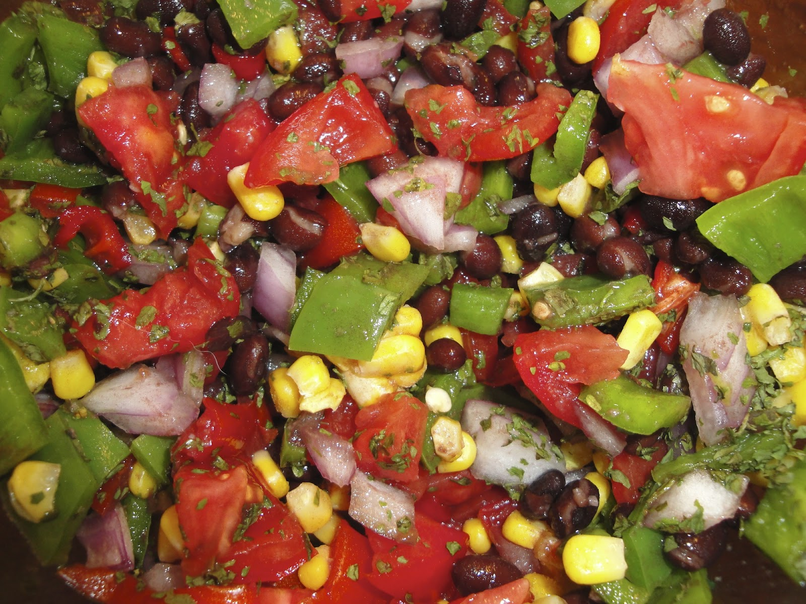 Get Your Energy On!: Fresh Garden Salsa