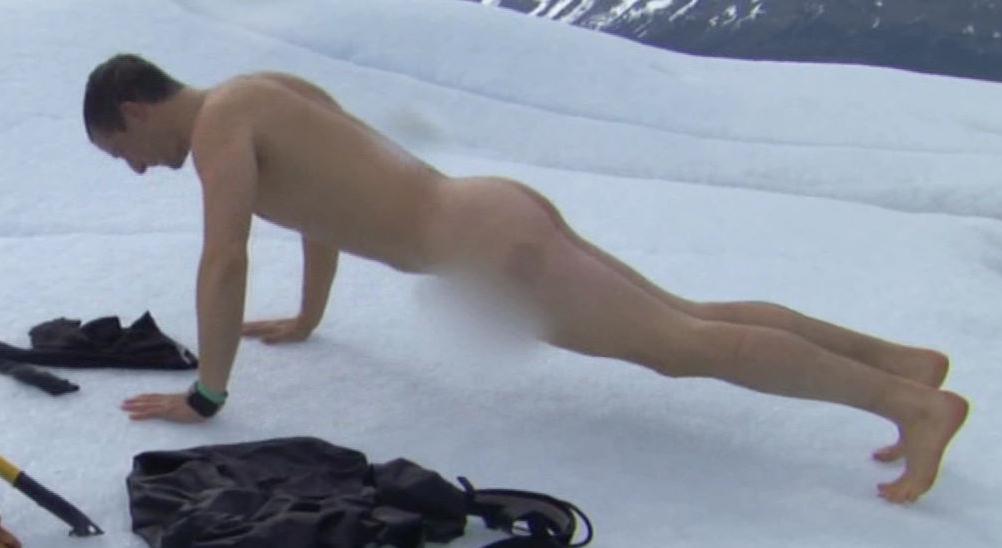 Bear gylls naked pit