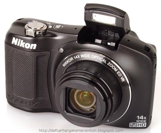 Harga dan Spesifikasi Kamera Nikon Coolpix L620