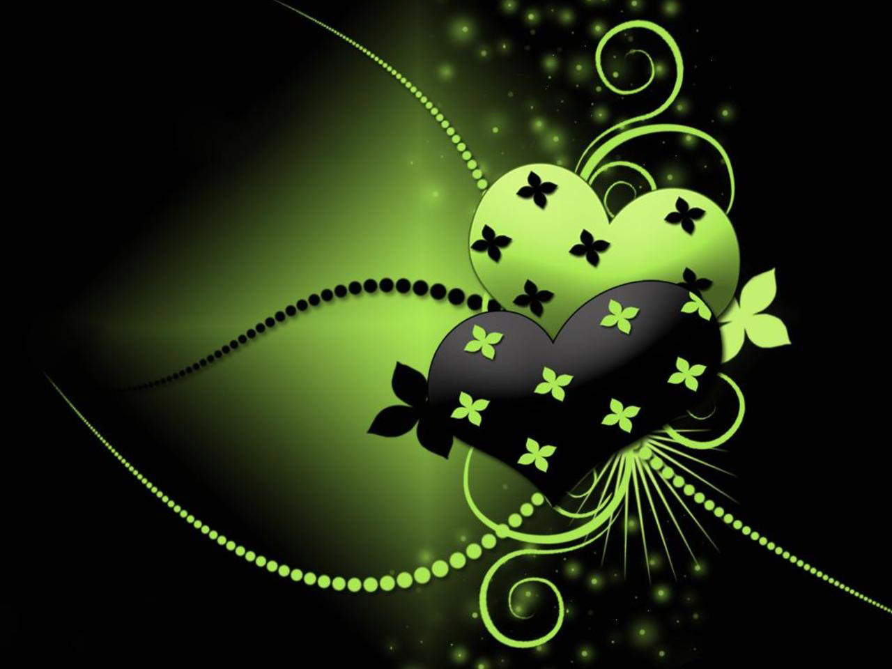 black and into green black and green love ideas for
