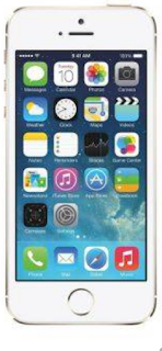 Sfesifikasi Apple iPhone 5S  16 GB  Gold