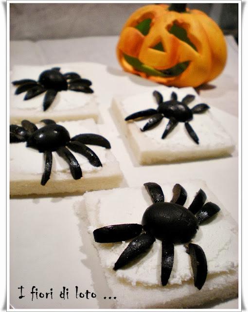 idea per l'antipasto di halloween