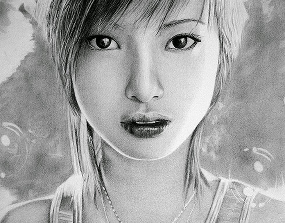 caras-de-mujeres-dibujos-a-lapiz