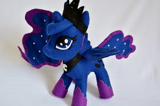 My little pony princesa luna tutorial