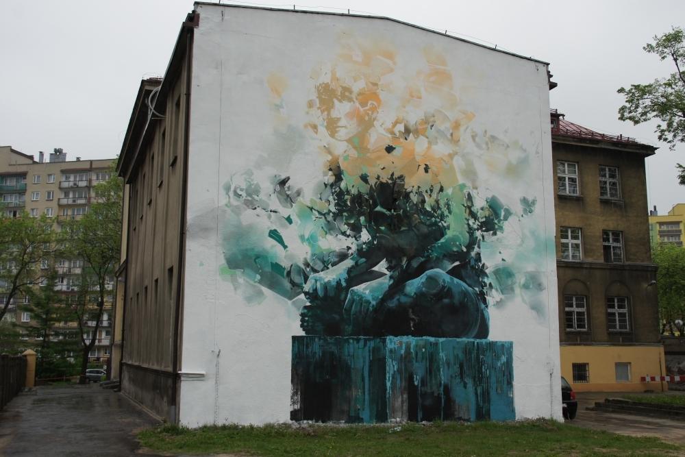 Robert Proch New Mural In Warsaw Poland Streetartnews