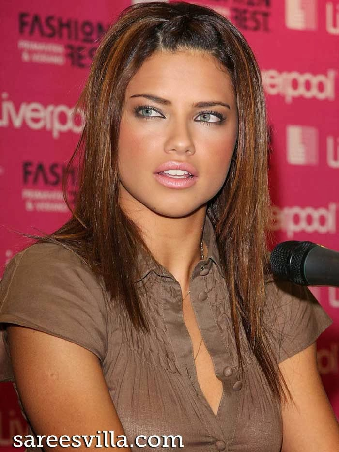 Brazilian model and actress Adriana Lima