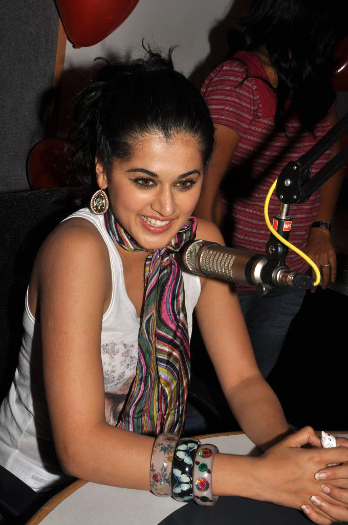 Taapsee at Mr. Perfect Promotional Event