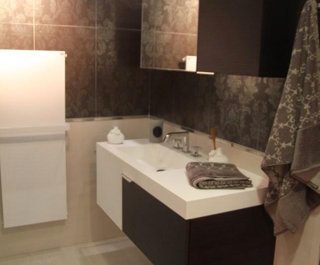 Azulejos Baño Tonos Marrones:10 fotos de baños en marrón chocolate – Colores en Casa