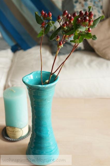 SIA Vase türkis