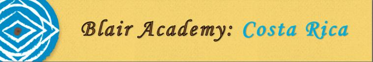 Blair Academy-Costa Rica- 2014