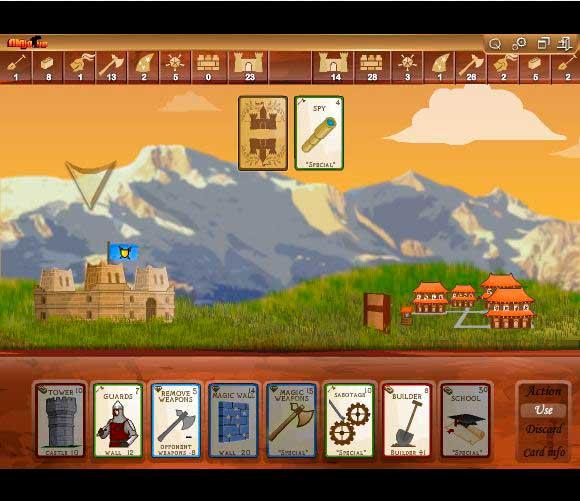 Flash-игра Castle wars 2