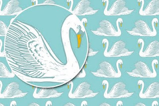 Mute Swan Tiffany Blue