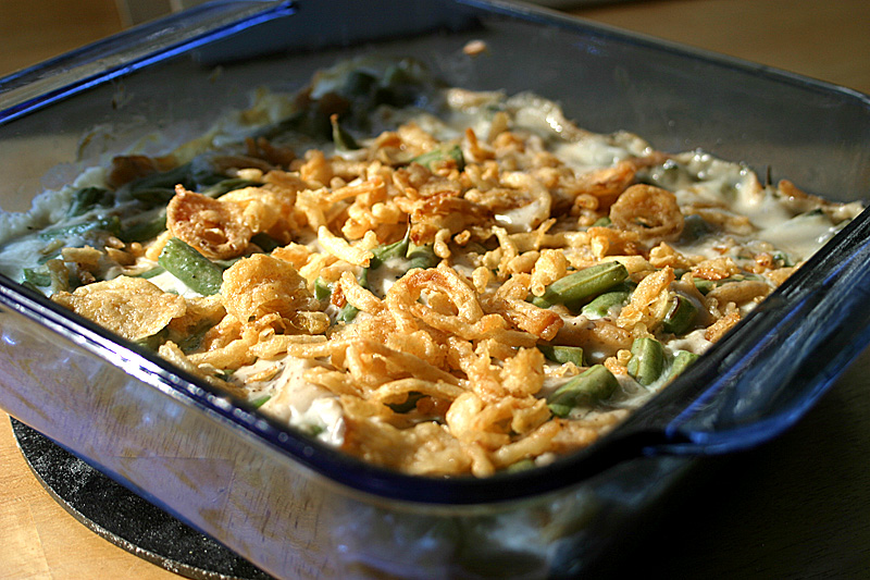 Fresh green bean casserole vegan veggieconverter for Easy thanksgiving green bean recipes