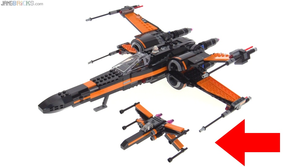 LEGO Star Wars Poe's X-Wing Fighter mini polybag! 30278 review