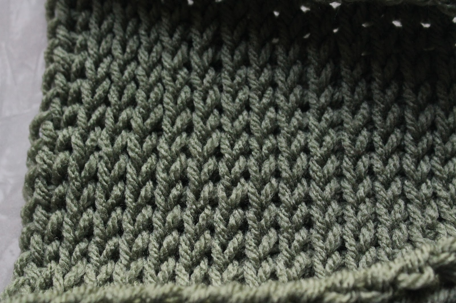 Crochet Like Knitting : the tunisian knit stitch tks looks like knitting but it s crocheted ...