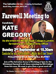 Farewell to Candidate Kate Gregory