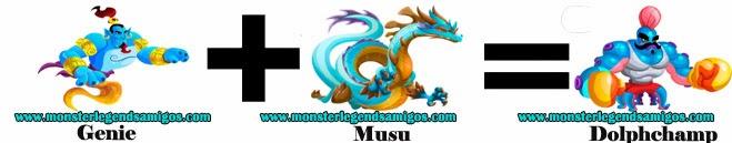 como obtener el monster dolphchamp en monster legends formula 2