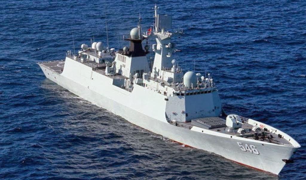 Type 054A (Jiangkai II class) FFG-546 Yancheng Guided ...