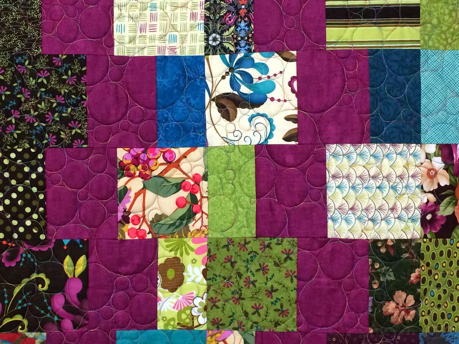 Sally Krebs Funky Monkey Quilt