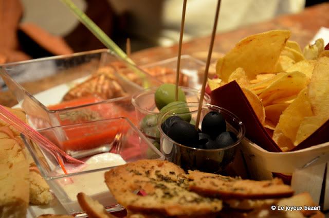 Florence - aperitivo au Volume Café