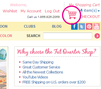 Fat quarter shop coupon code