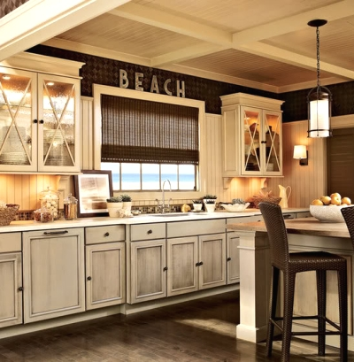 pin shaker kitchen cabinet beach transitional with cabinets white