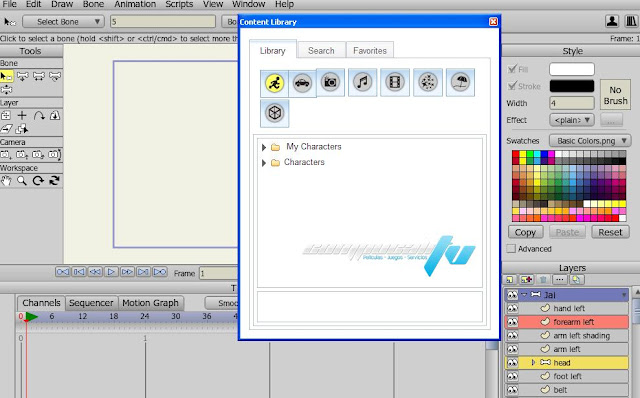 Anime Studio Pro Version 10.0