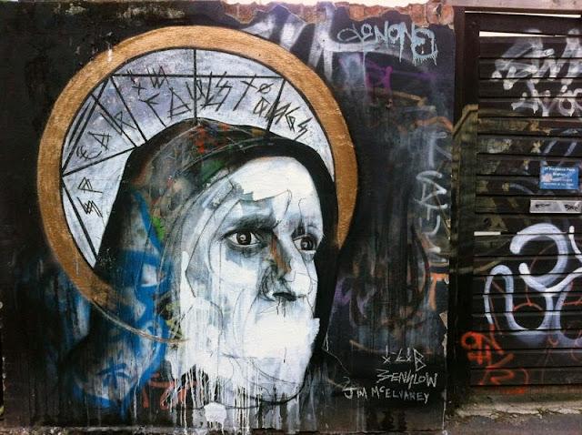 Ben Slow x Jim McElvaney x I-Lib Newest Street Art on the streets of Brighton, UK 1