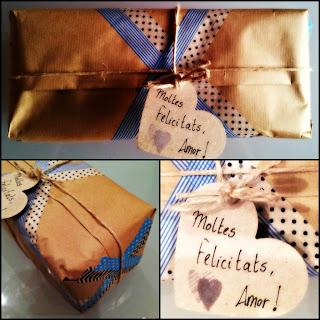 regalo de cumpleaños packaging
