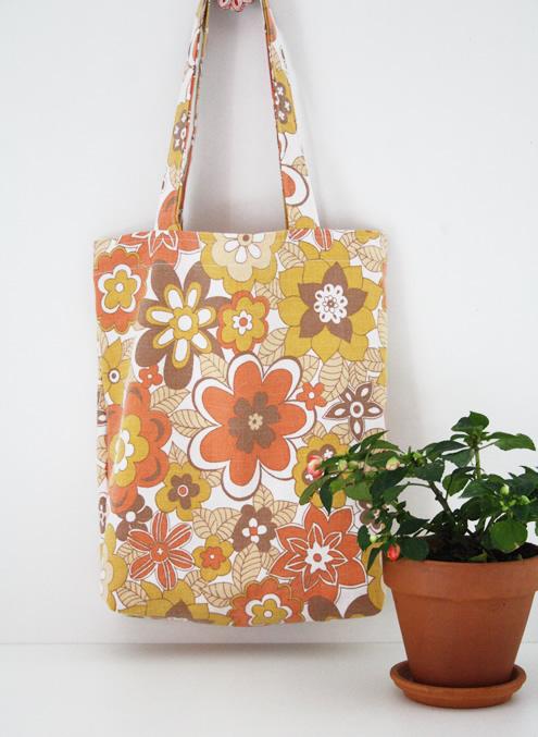 Vintage grocery bag