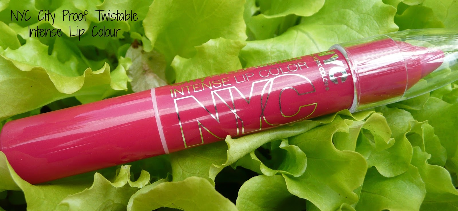 NYC City Proof Twistable Intense Lip Colour Review