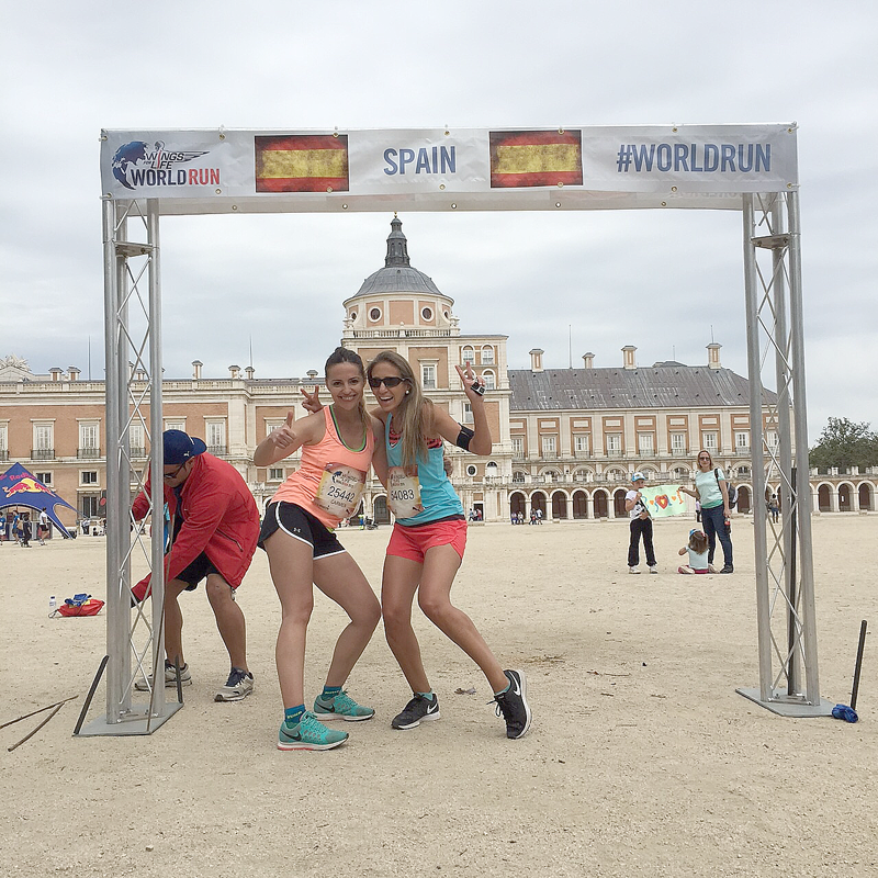 Wings for Life 2015, Aranjuez Spain
