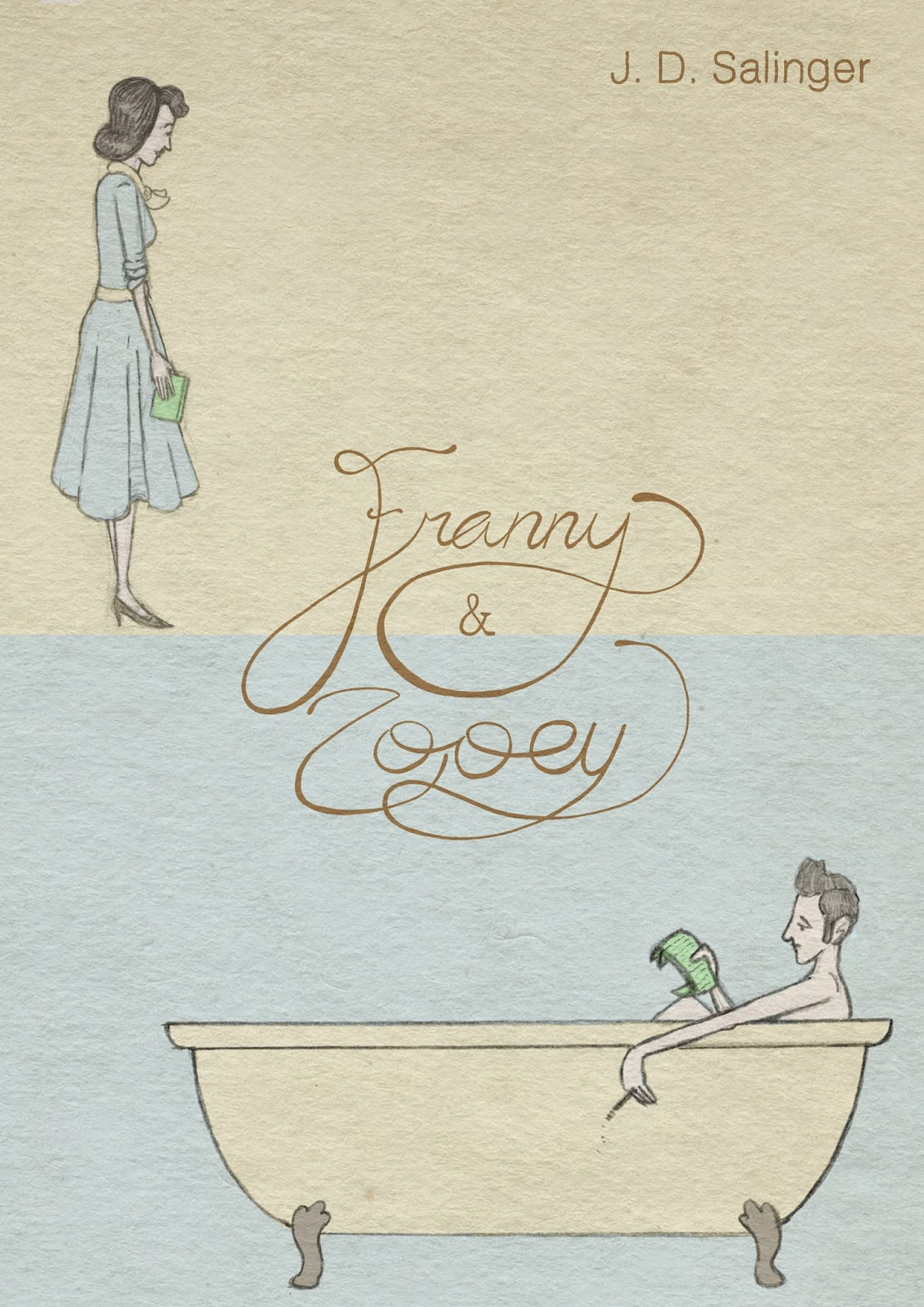 essays on franny and zooey Art essay / literary arts essays / prose essays / theme comparison of the catcher in the rye and franny in the second part of franny and zooey, franny is.