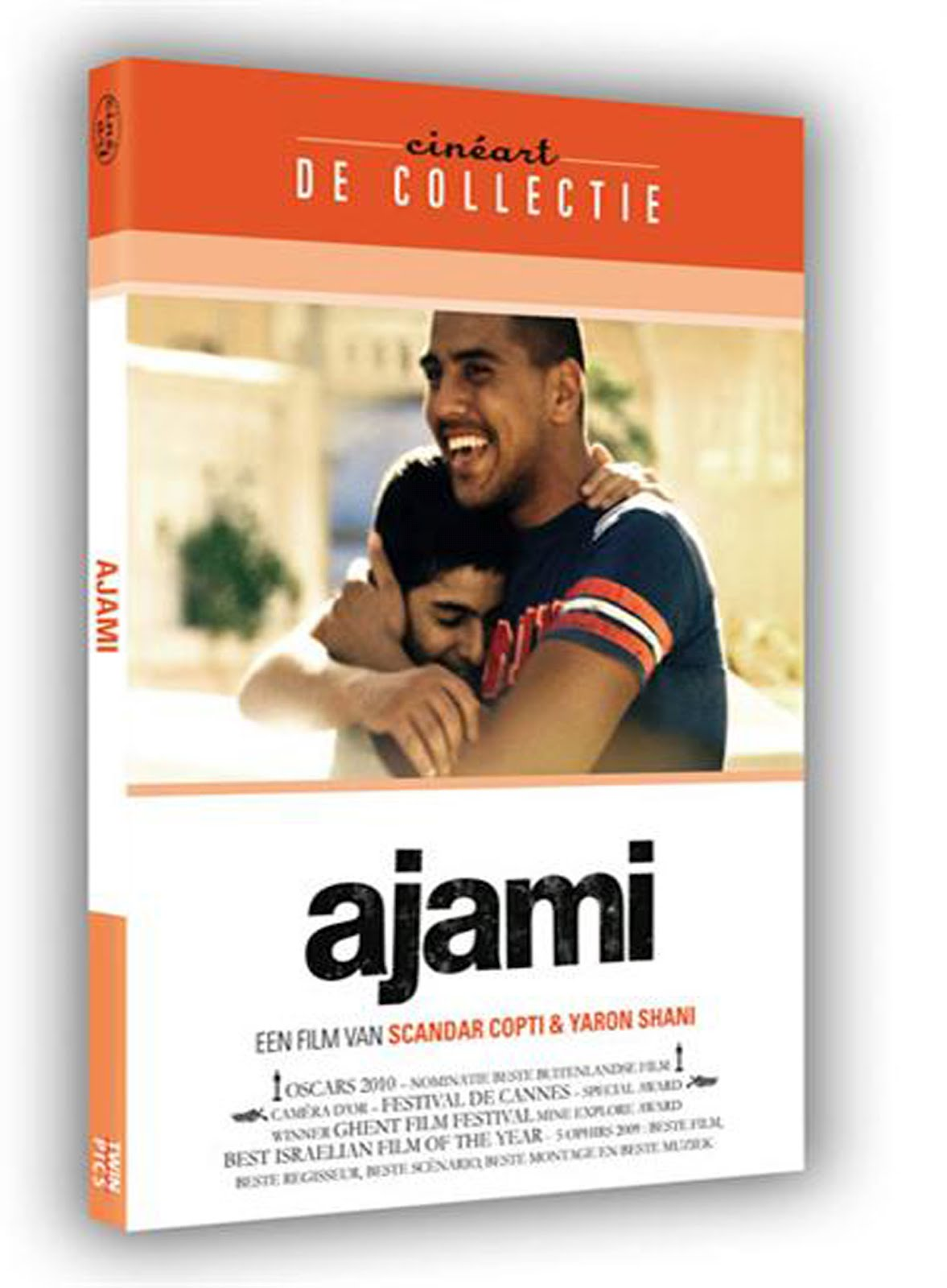 Ajami Dvd Case Box