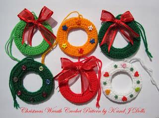 Crochet desde el tabo adornos navide os christmas - Adornos navidenos crochet ...