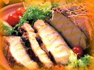 Carne almendrada